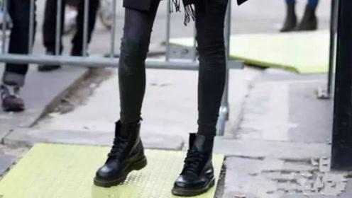 想穿出一身的复古范儿?试试时尚百搭的马丁靴