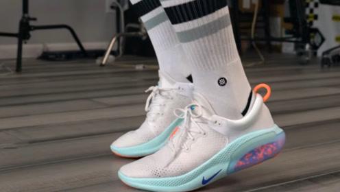 """想体验在""""泡泡上跑步""""?耐克研发的这款运动鞋,鞋底的设计太牛"""