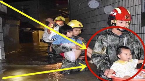 泪目!消防员用盆救出1岁婴儿,小手手紧紧紧抓住消防员!