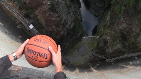 从180米的高空投篮能命中吗?要不是有视频,很难相信这是真的!