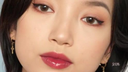 日常简单妆容分享 小魅惑猫眼妆容