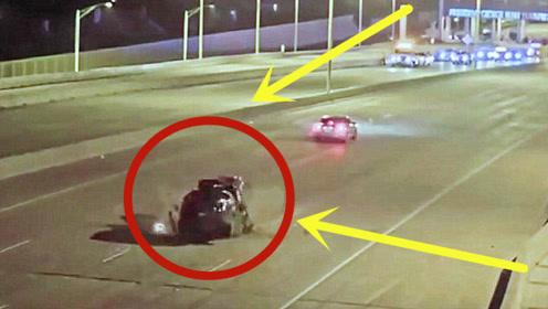 女司机无照驾驶,逆行与人飙车,结果车毁人亡!