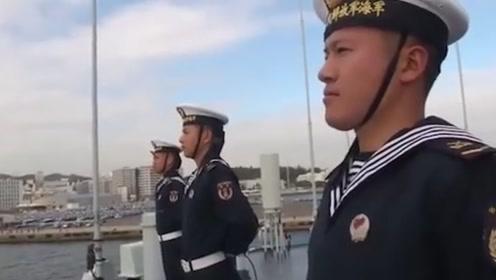 太原舰抵达横须贺将参加国际阅舰式 中国海军时隔10年再访日