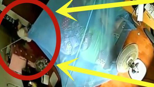 男子独自家中午睡,女邻居竟来卧室了,监控拍下荒唐画面!