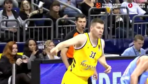 团队篮球展现的淋漓尽致!欧冠篮球联赛常规赛首轮十佳球!