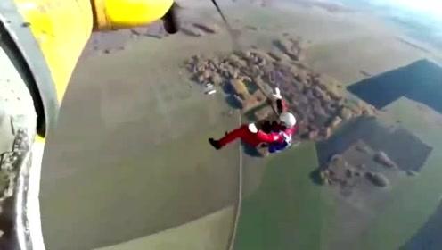 医护人员跳伞时开伞失败坠亡 跳伞最后一刻画面曝光