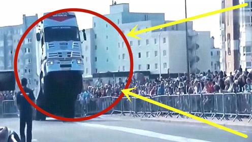 印度人民开沃尔沃大货车开挂!德国佬看懵了,出厂检测?