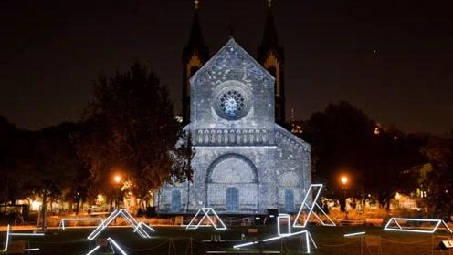 视觉盛宴!欧洲最大信号灯节开幕将震撼上演绝美灯光秀