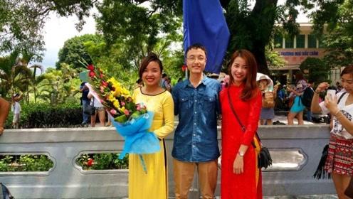 外地人去越南旅游时,只要500元就能享受这种服务,看完心动了