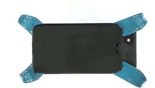老外发明新型手机壳,落地瞬间长出4条腿,再也不怕屏幕被摔碎