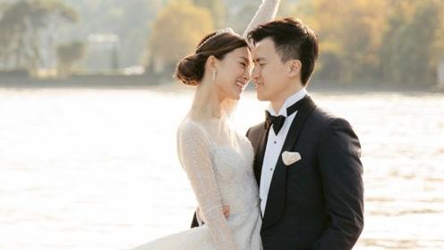 文咏珊与圈外男友意大利办婚礼 身穿婚纱美艳动人