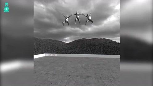 CGI特效小哥骚操作,制作各种惊心动魄的画面,也太真实了