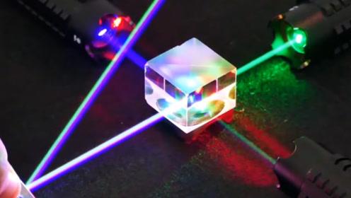 激光遇到放大镜能产生多大威力?老外的一场实验,让人后怕!