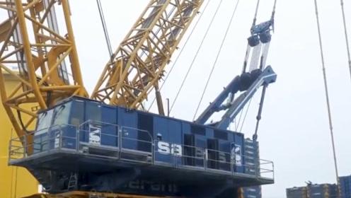 """它是""""起重机之王""""能轻松挑起870吨,司机没点技术开不了"""