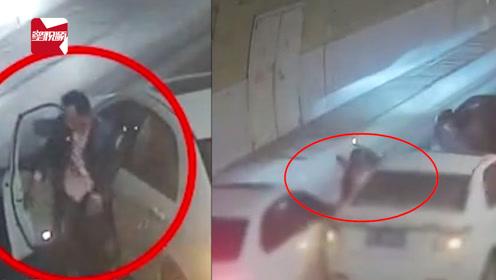 安全意识缺乏!司机隧道碰到墙壁下车查看,3分钟后被车撞飞身亡