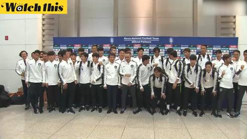 韩国男足时隔29年再赴平壤与朝鲜对决:我们会全力以赴