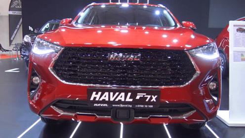 2020款哈弗F7x惊艳亮相 全面了解完配置后 还有不买的理由吗?