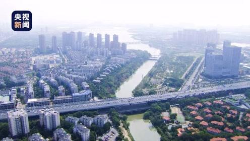 空中全景视角!总台航拍带你看江城