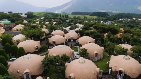 日本发明新型泡沫房!总重80公斤堪称无敌,防火防水抗地震!
