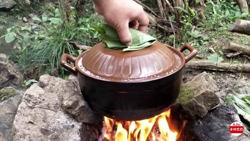 牛肉跟鸡肉选哪个,配上这个小锅慢慢炖,也太会吃了