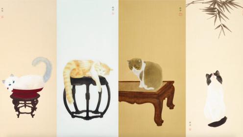 清华女学霸放弃社交,画猫成瘾,微博粉丝排队寄来猫照片