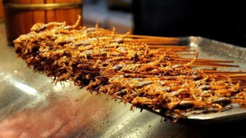 让人避之不及的蝎子,却成为泰国的奇特小吃,吸引了大量游客