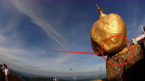 牛顿都管不了的巨石,在悬崖边屹立百年,还禁止女游客触碰