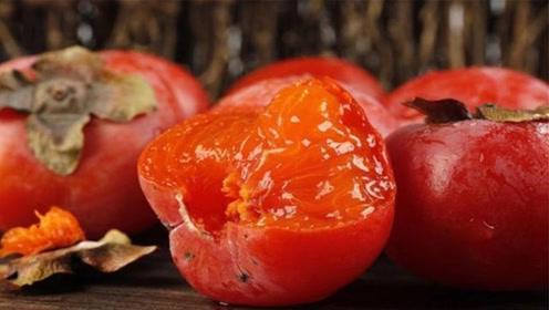 吃柿子要谨慎,柿子这么吃很危险,这些禁忌记住,可别再乱吃了