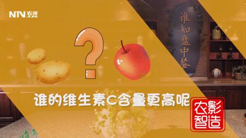 苹果和土豆哪个维生素C含量高?99%的人都答错了!