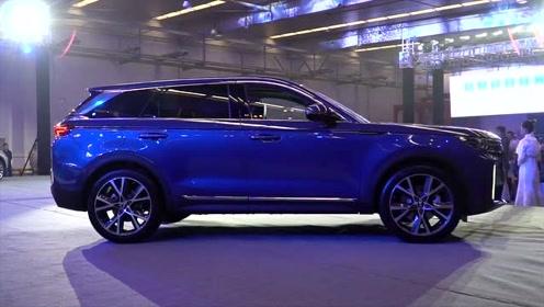 一汽新SUV比肩红旗,后排可比途昂,四屏联动+2.0T+8AT才16万