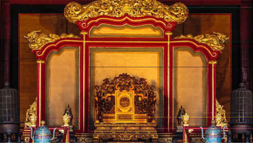 故宫的龙椅到底是用什么材料做的?说出来怕吓到你,一起来看看!