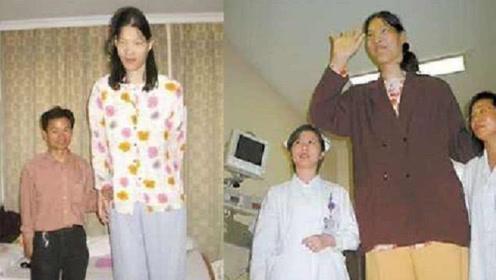 中国第一女巨人,18岁身高2米48,姚明都得仰头看她!