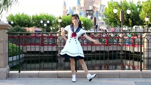 《恋爱循环》迪士尼城堡尬舞,就问你可爱不可爱!