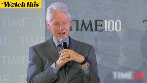 克林顿笑谈自己长期跑步保持健康:这都是托我妻子希拉里的福