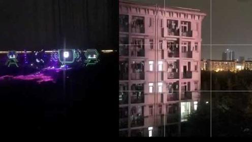 高校承办音乐节夜间彩排,灯光直射宿舍楼,学生吐槽没法睡觉