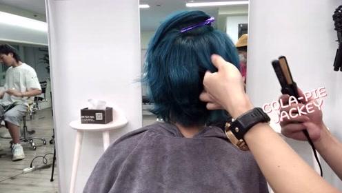 短发小姐姐染了一款爱豆同款发色,好看又吸晴,出门回头率爆高