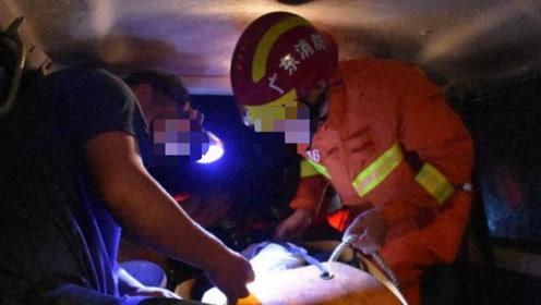 惨痛!广东一小车坠水致4人死亡,死者最小才两岁