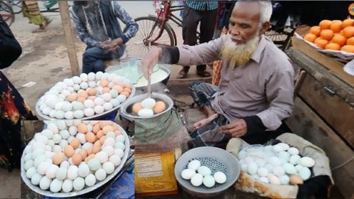 平常的煮鸡蛋卖不掉,老爷爷煮的鸡蛋却卖到脱销,怎么做到的?