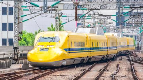 """中国高铁上有种""""黄色列车"""",花再多钱都没资格坐!知道原因后让人感动不已"""