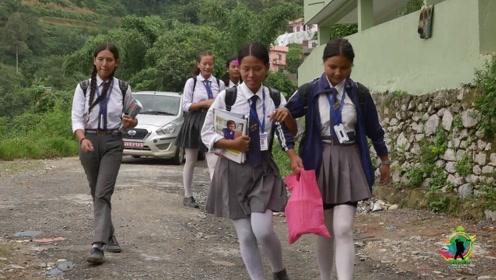 亚洲最不发达国家之一,实拍尼泊尔的农村,看看当地条件如何?