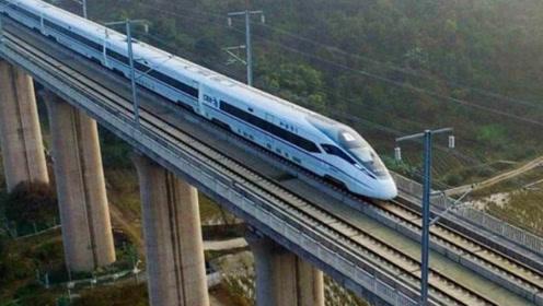 为什么高铁的轨道只能建高架桥,而不是走平地?看完才了解用心!