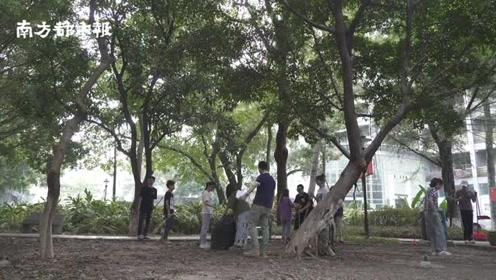 """广州一高校将扫地设为""""必修课"""",纳入学分考核,大受学生欢迎"""