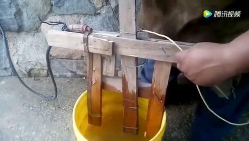 牛人用一桶水几块破木板就能做一个电焊机,这操作科学吗?
