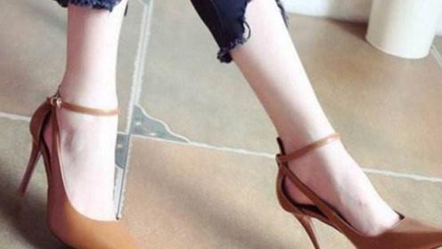 常年穿高跟鞋和平底鞋的脚有什么区别?很多人都想错了,我也是刚知道