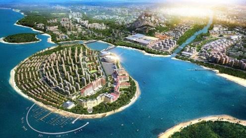 一分钟带你看看中国最美小岛 景色不输马尔代夫
