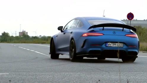 AMG GT63S,0-300kph加速测试