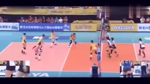 回顾女排比赛,颜妮丁霞堪称绝配,扣的日本队很无奈!厉害