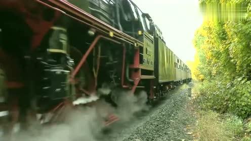 都说火车的速度快,看到这个我失望了