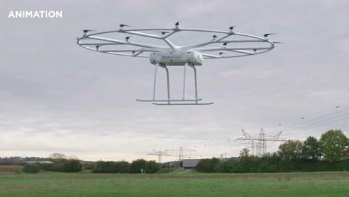 Volocopter大型通用无人机最多可运载200千克