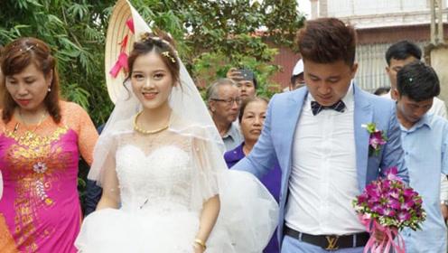 农村小伙花最少的钱接亲,网友心疼:新娘嫁过去要受穷了